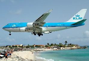 KLM vakantiestunt