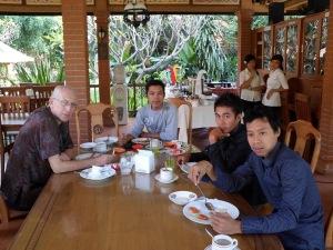 afscheid van Bali
